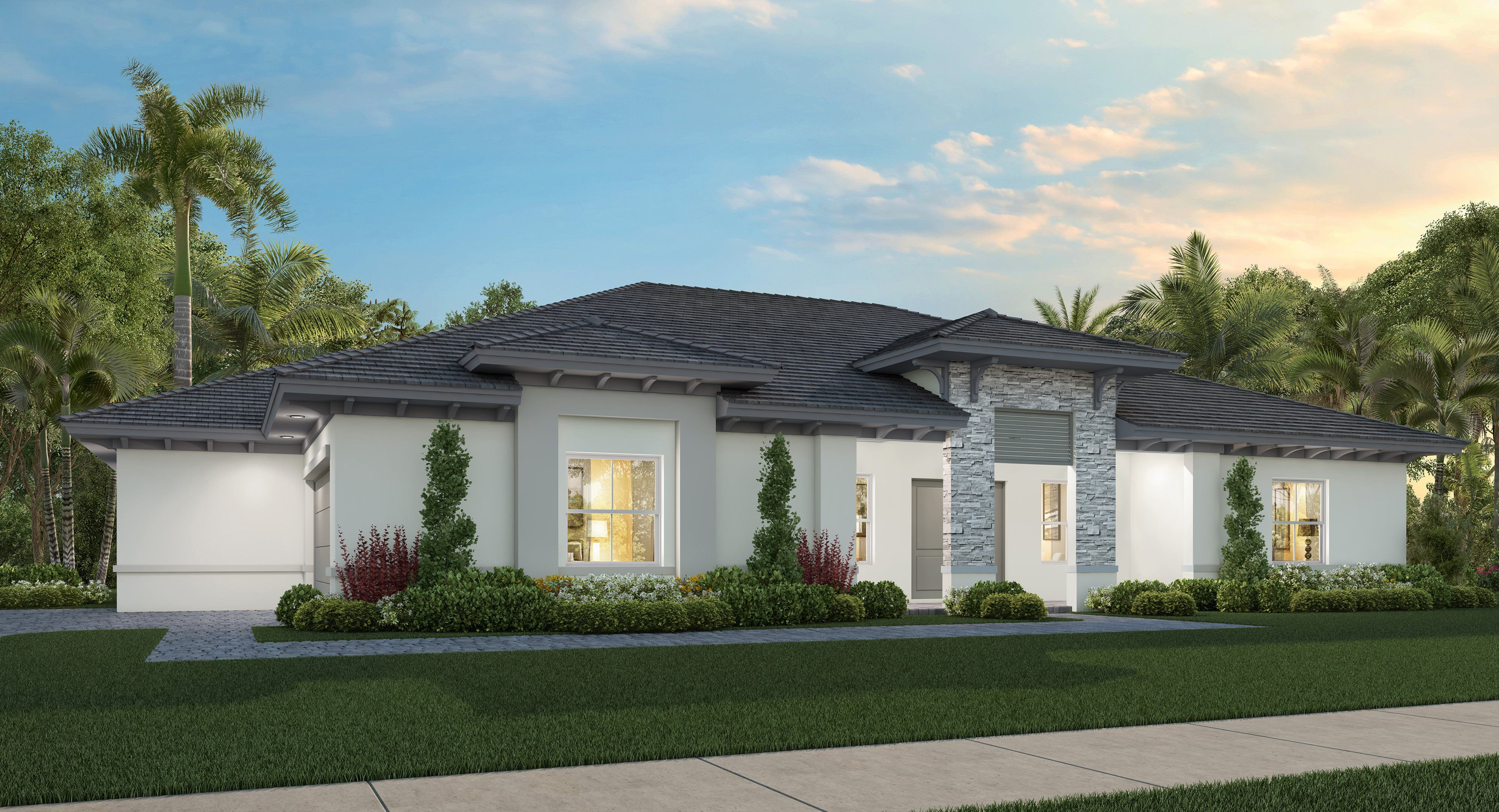 Exterior featured in the Fontana By Lennar in Miami-Dade County, FL