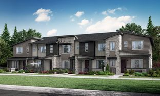 Plan 301 - Green Gables Townhomes - The Parkside Collection: Lakewood, Colorado - Lennar
