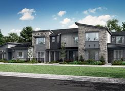 Plan 501R - Green Gables Townhomes - The Lakeside Collection: Lakewood, Colorado - Lennar