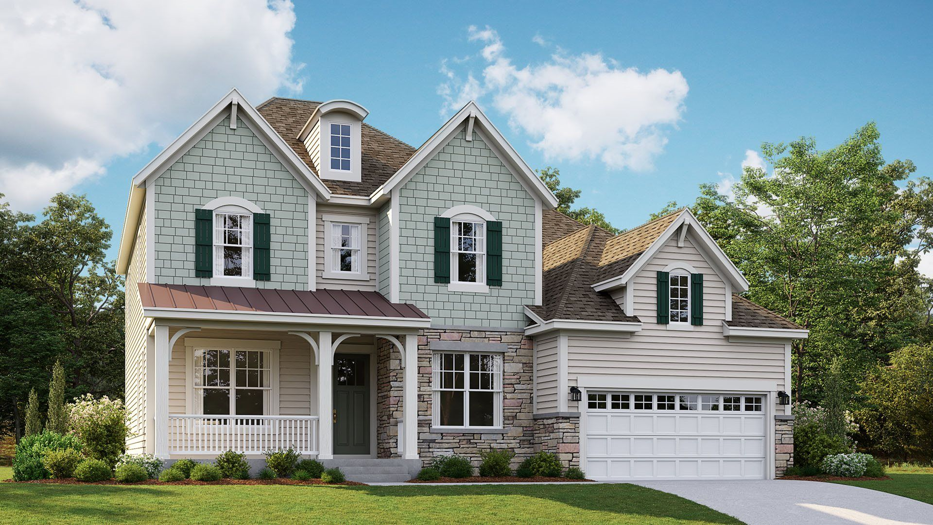 Exterior featured in the Jamison By Lennar in Baltimore, MD