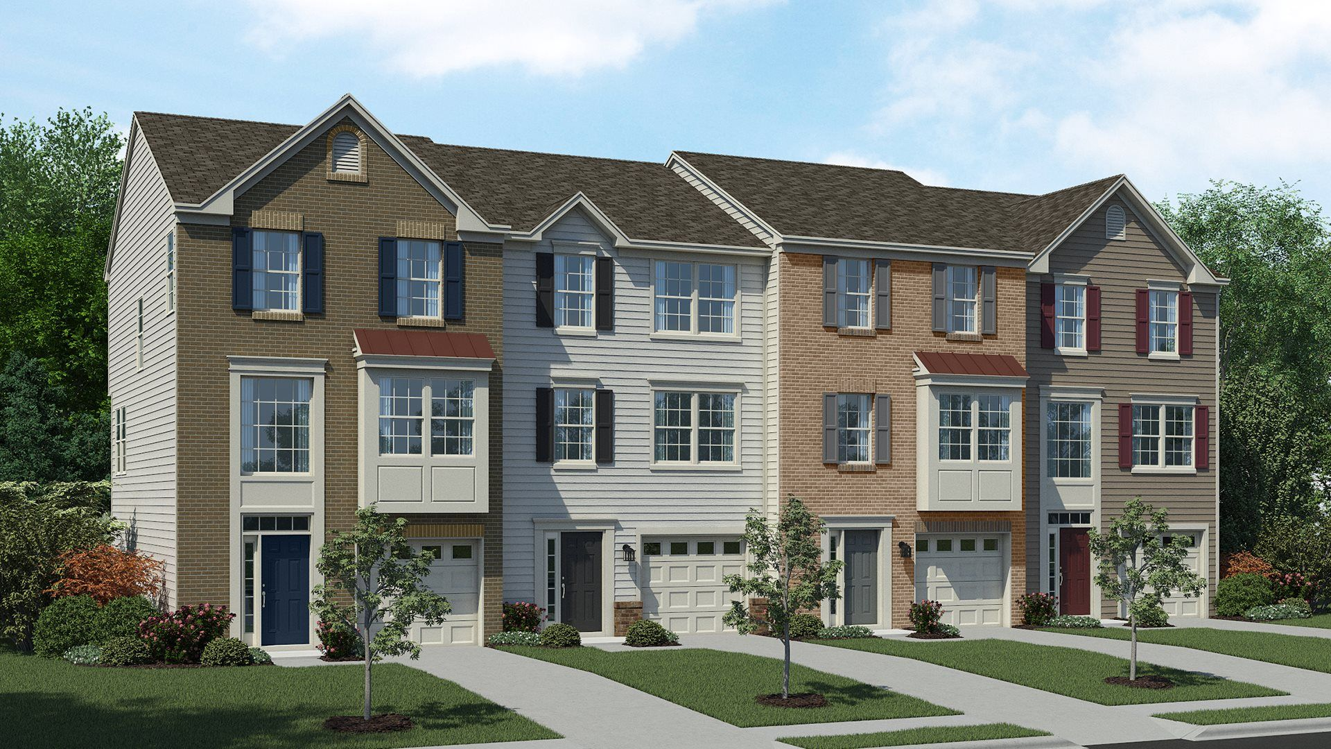 Exterior featured in the Tydings Non Garage By Lennar in Baltimore, MD