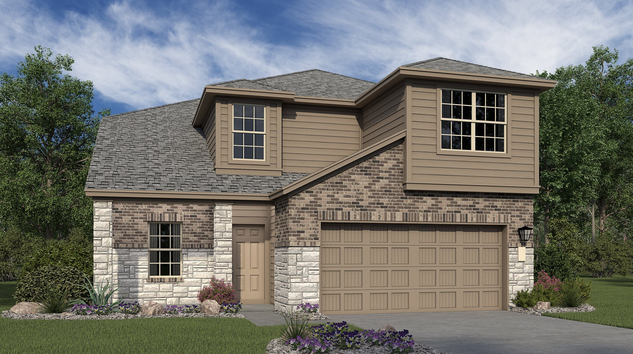 Exterior featured in the Bexley By Lennar in San Antonio, TX