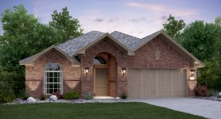 Travertine with 3rd Car Garage - Devine Lake - Brookstone II Collection: Leander, Texas - Lennar