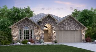 Giallo with 3rd Car Garage - Devine Lake - Brookstone II Collection: Leander, Texas - Lennar