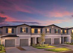 Hampton - Townes at Summerfield Creek: Riverview, Florida - Lennar