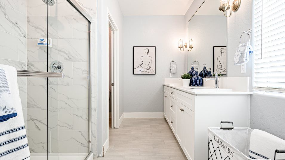 Bathroom featured in the Dewberry By Lennar in Bakersfield, CA
