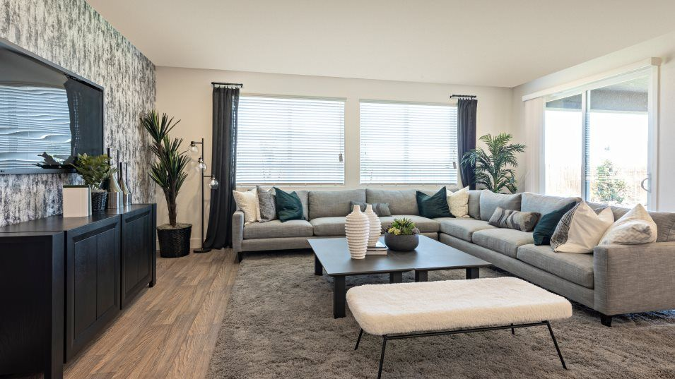 Living Area featured in the Beachcomber By Lennar in Merced, CA