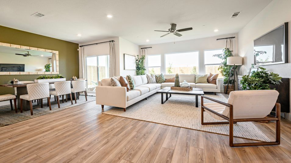 Living Area featured in the Aria By Lennar in Fresno, CA