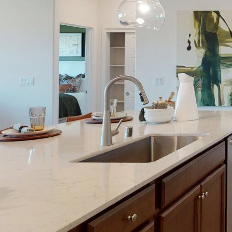 Kitchen featured in the Aria By Lennar in Visalia, CA