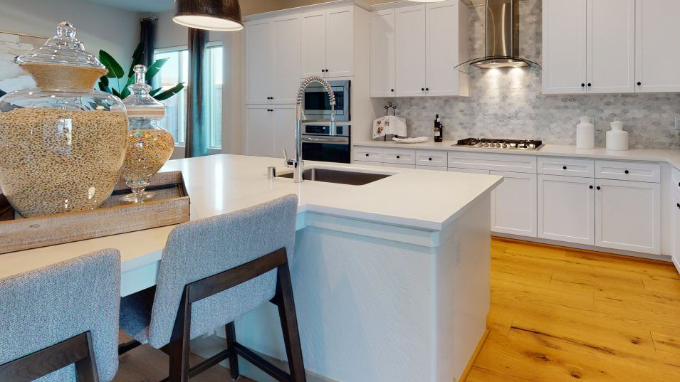 Kitchen featured in the Alpenglow By Lennar in Visalia, CA