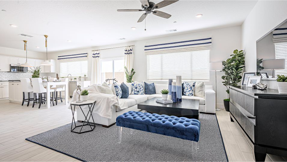 Living Area featured in the Dewberry By Lennar in Fresno, CA