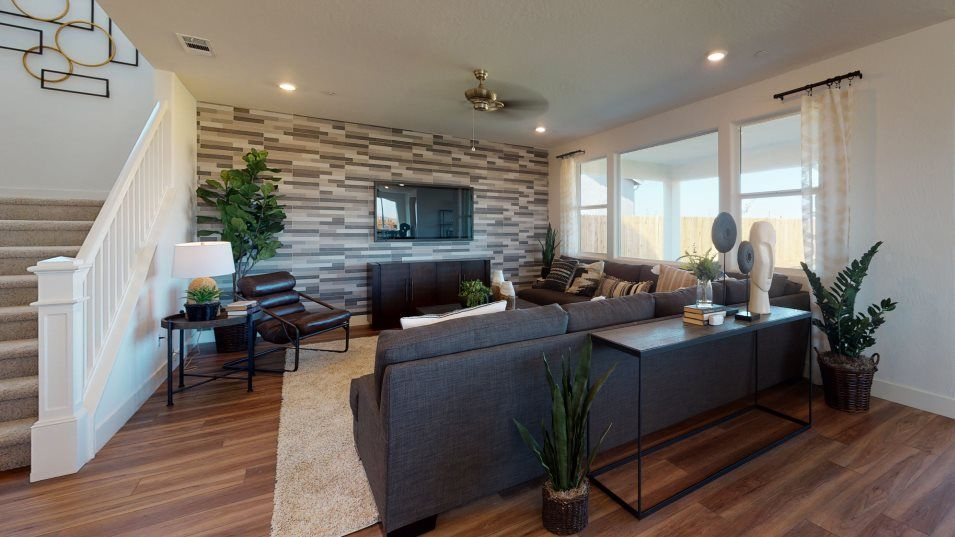 Living Area featured in the Overture By Lennar in Fresno, CA