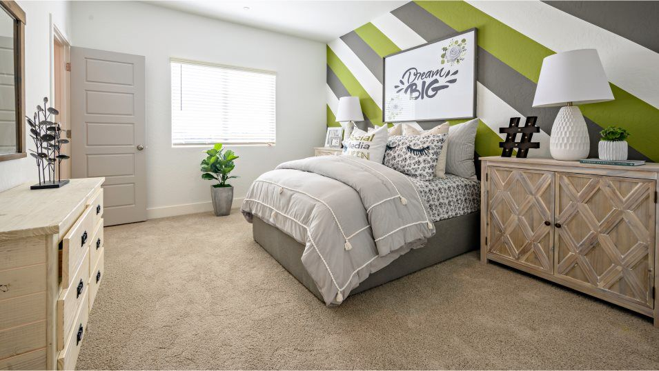 Bedroom featured in the Persimmon By Lennar in Fresno, CA