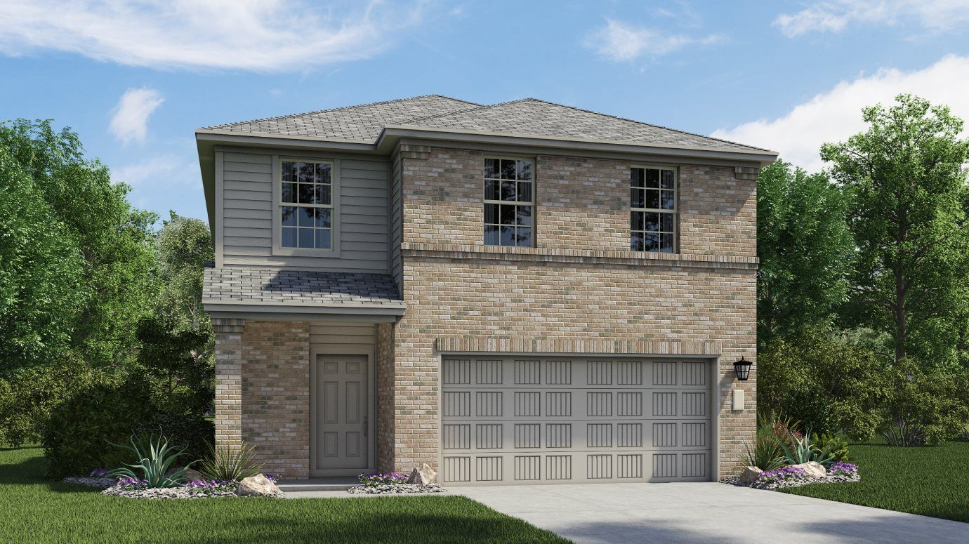 Exterior featured in the Windyhill By Lennar in Austin, TX