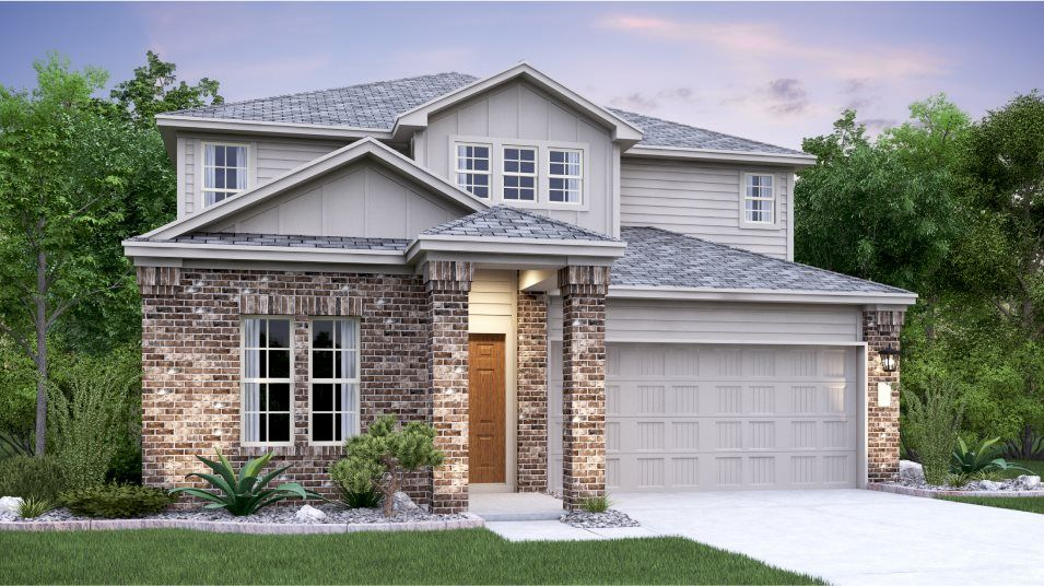 Exterior featured in the Brock By Lennar in Austin, TX
