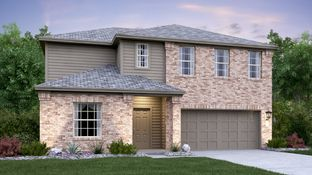 Hudson - Whisper - Claremont and Highlands Collections: San Marcos, Texas - Lennar