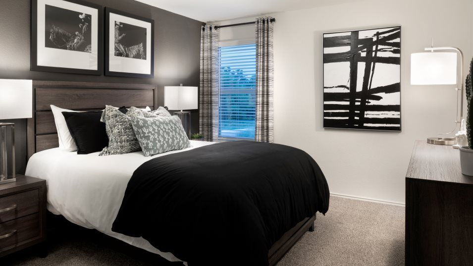 Bedroom featured in the Brock By Lennar in Austin, TX