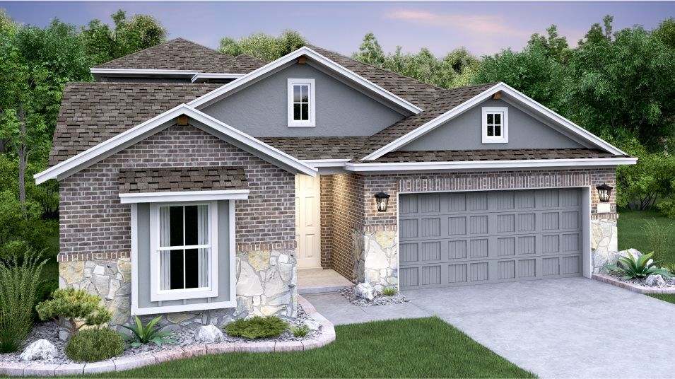 Exterior featured in the Afton II By Lennar in Austin, TX