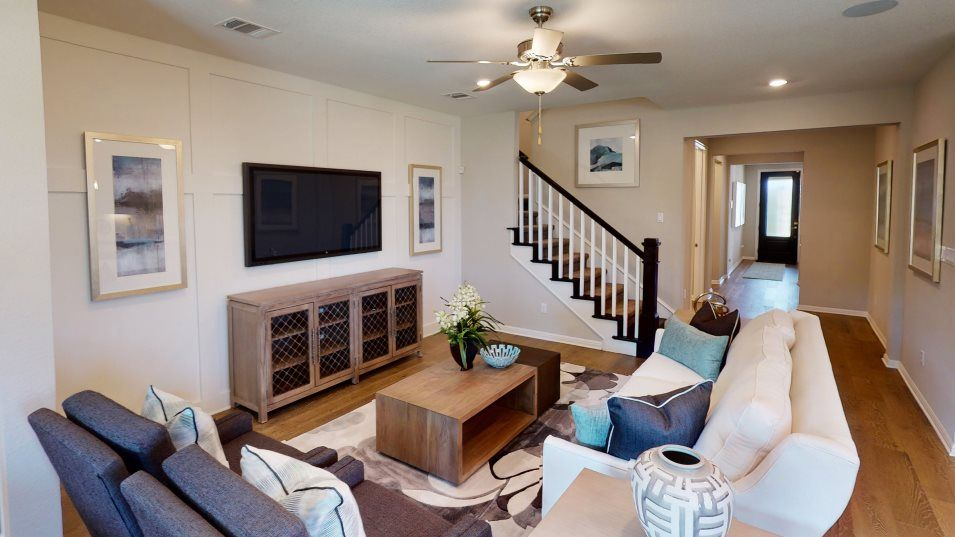 Living Area featured in the Afton II By Lennar in Austin, TX