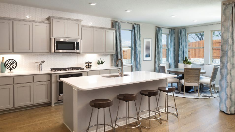 Kitchen featured in the Afton II By Lennar in Austin, TX