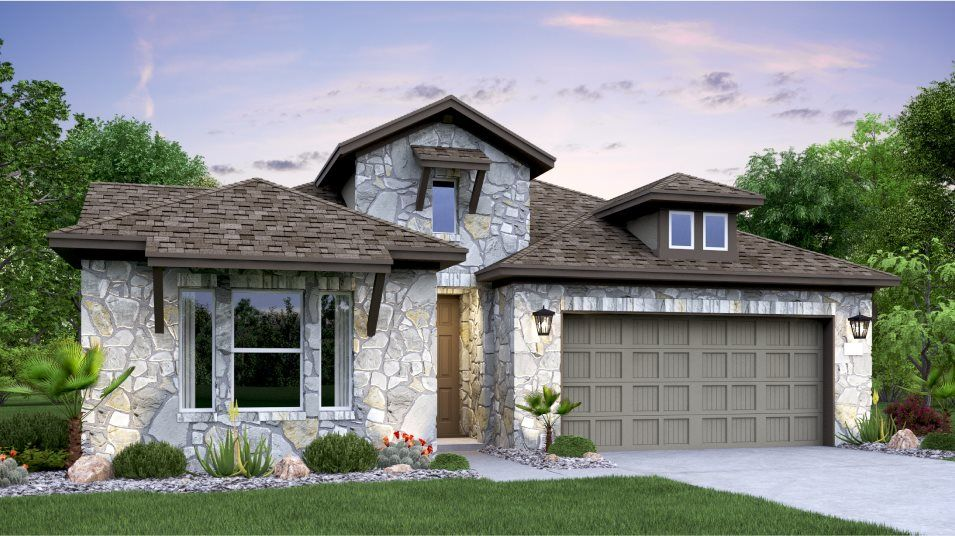 Exterior featured in the Weaver By Lennar in Austin, TX