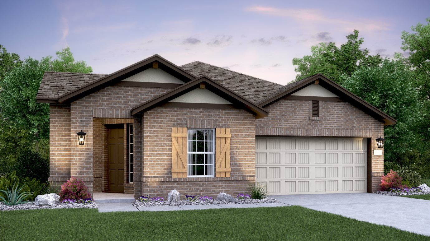 Exterior featured in the Eaton By Lennar in Austin, TX