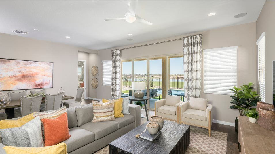Living Area featured in the Crest Plan 1002 By Lennar in Phoenix-Mesa, AZ