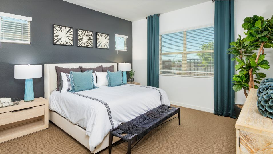 Bedroom featured in the Trillium Plan 4585 By Lennar in Phoenix-Mesa, AZ