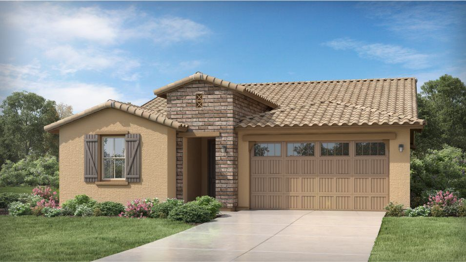 Exterior featured in the Revolution Plan 4083 By Lennar in Phoenix-Mesa, AZ