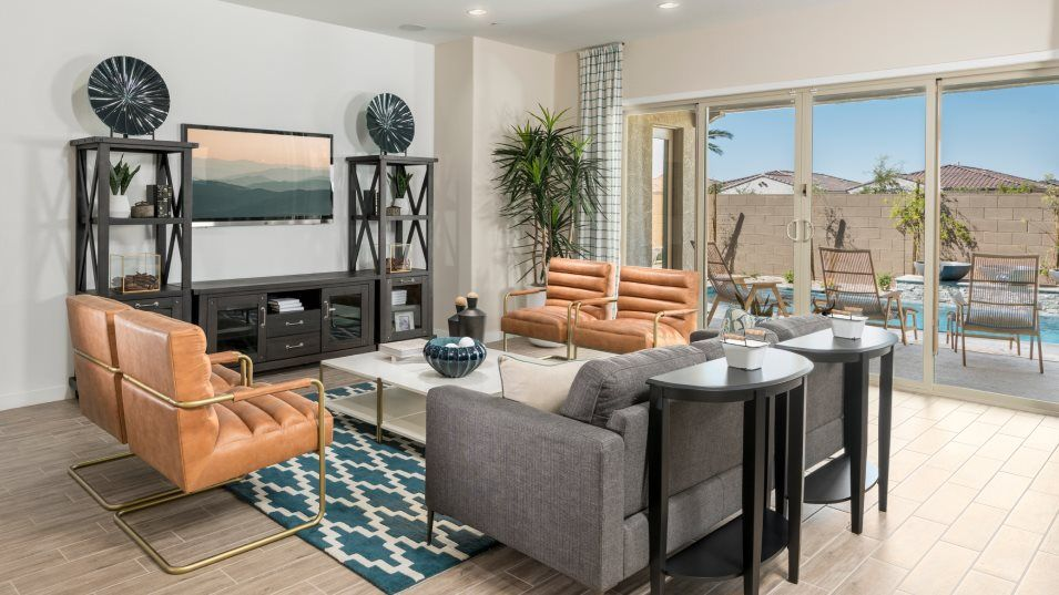 Living Area featured in the Evolution Plan 5582 By Lennar in Phoenix-Mesa, AZ