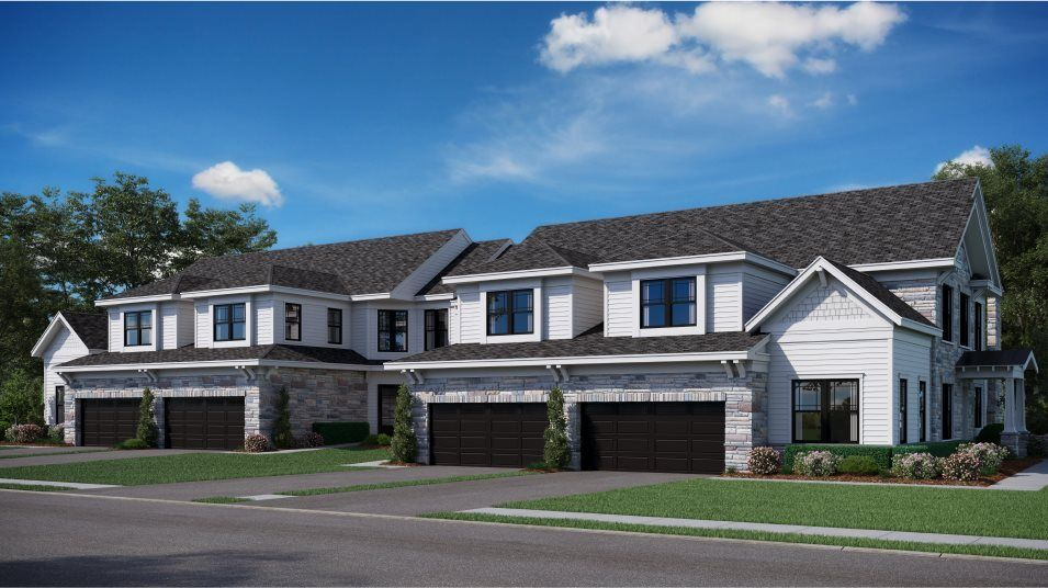 Exterior featured in the Augusta By Lennar in Mercer County, NJ