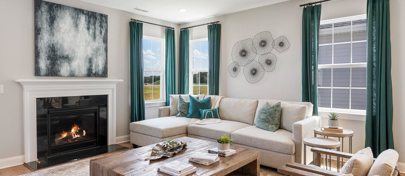 Living Area featured in the Saratoga By Lennar in Philadelphia, NJ