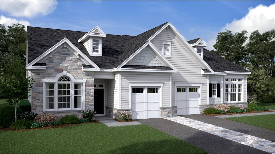 Exterior featured in the Astor - Two-Story By Lennar in Philadelphia, NJ