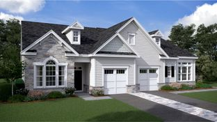 Astor - Two-Story - Venue at Smithville Greene - Carriage Homes: Eastampton, Pennsylvania - Lennar