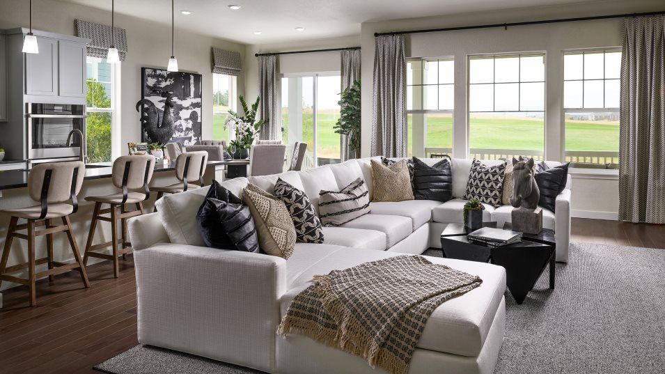 Living Area featured in the Hepburn By Lennar in Denver, CO