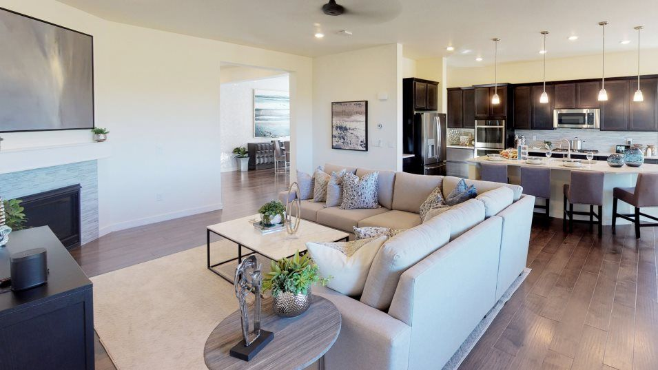 Living Area featured in the Gable By Lennar in Denver, CO