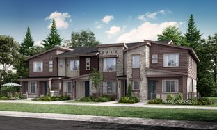 Plan 305 - Green Gables Townhomes - The Parkside Collection: Lakewood, Colorado - Lennar