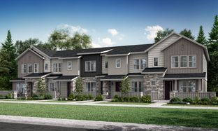 Plan 301R - Green Gables Townhomes - The Parkside Collection: Lakewood, Colorado - Lennar