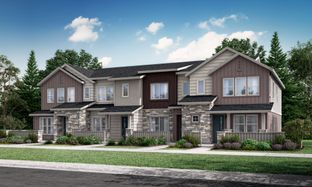 Plan 302R - Green Gables Townhomes - The Parkside Collection: Lakewood, Colorado - Lennar