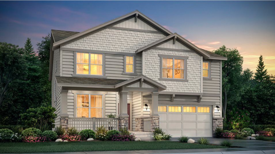 Exterior featured in the Stonehaven By Lennar in Denver, CO