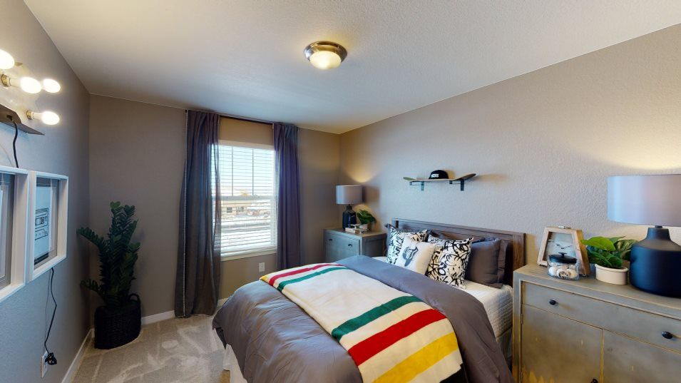 Bedroom featured in the Meridian By Lennar in Denver, CO
