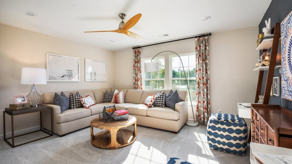 Living Area featured in the HANOVER By Lennar in Charleston, SC