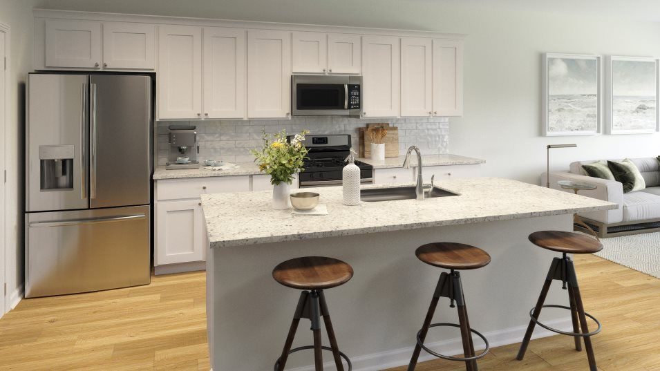 Kitchen featured in the FOXTAIL By Lennar in Myrtle Beach, SC