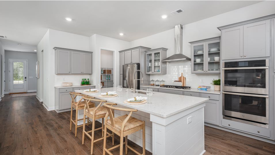 Kitchen featured in the ASHLEY By Lennar in Charleston, SC