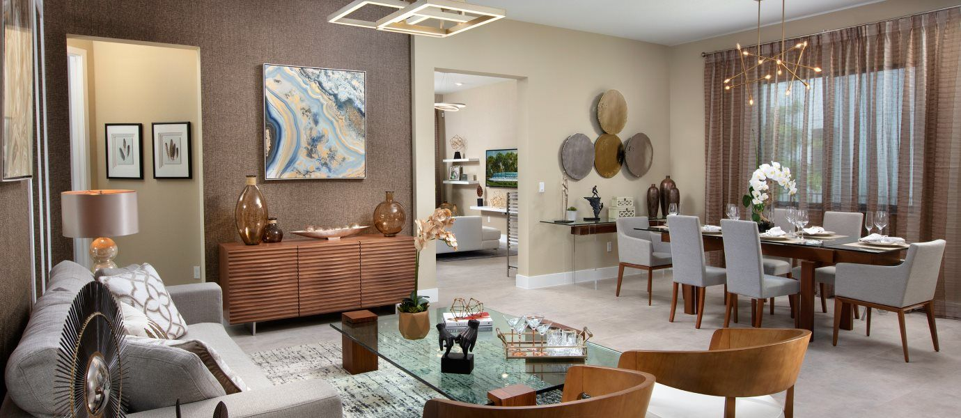 Living Area featured in the Bonita By Lennar in Broward County-Ft. Lauderdale, FL