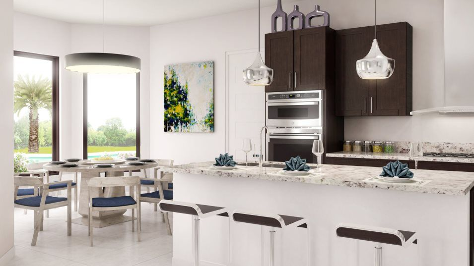 Kitchen featured in the Della By Lennar in Broward County-Ft. Lauderdale, FL