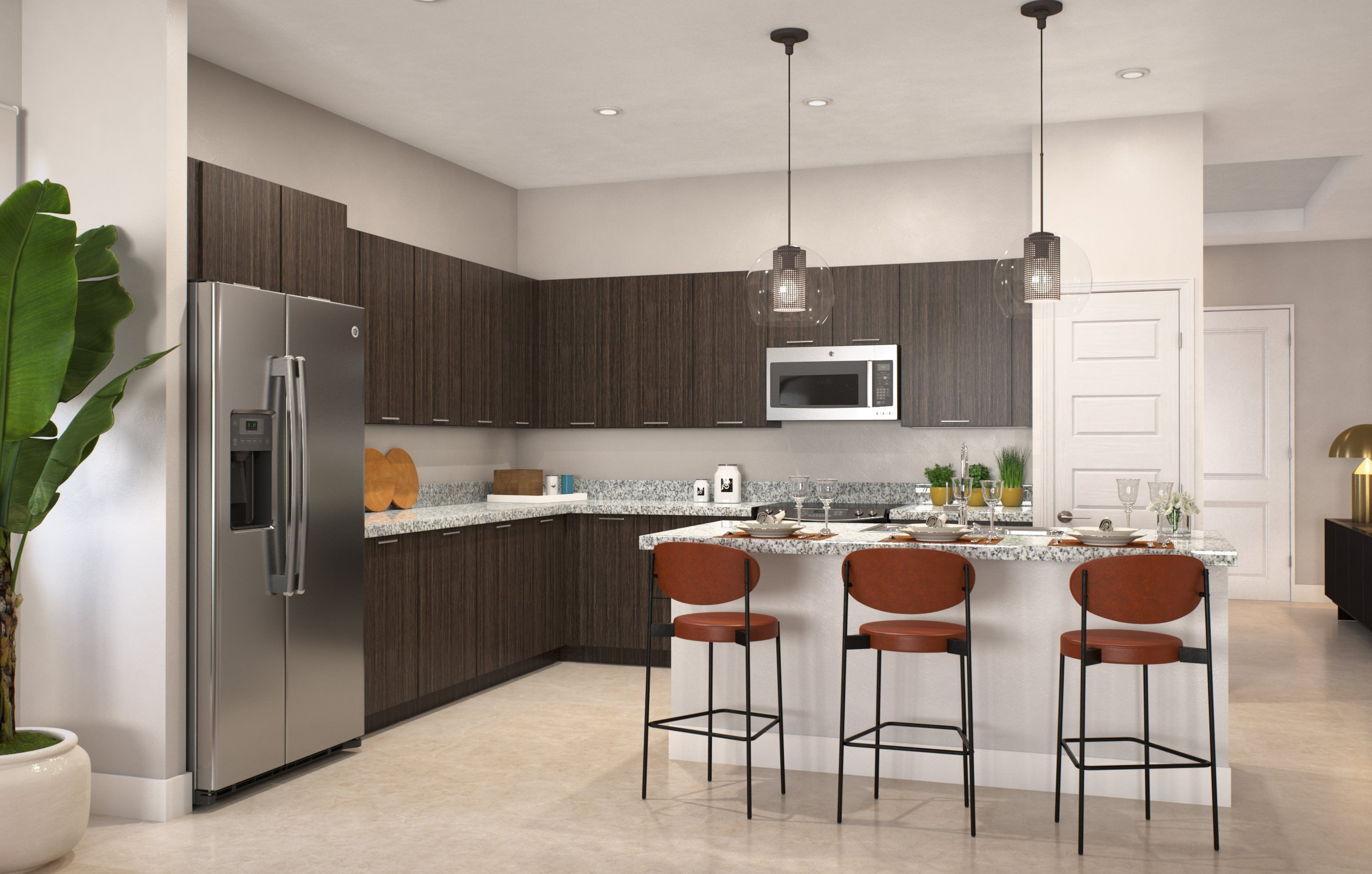 Kitchen featured in the Alameda By Lennar in Broward County-Ft. Lauderdale, FL