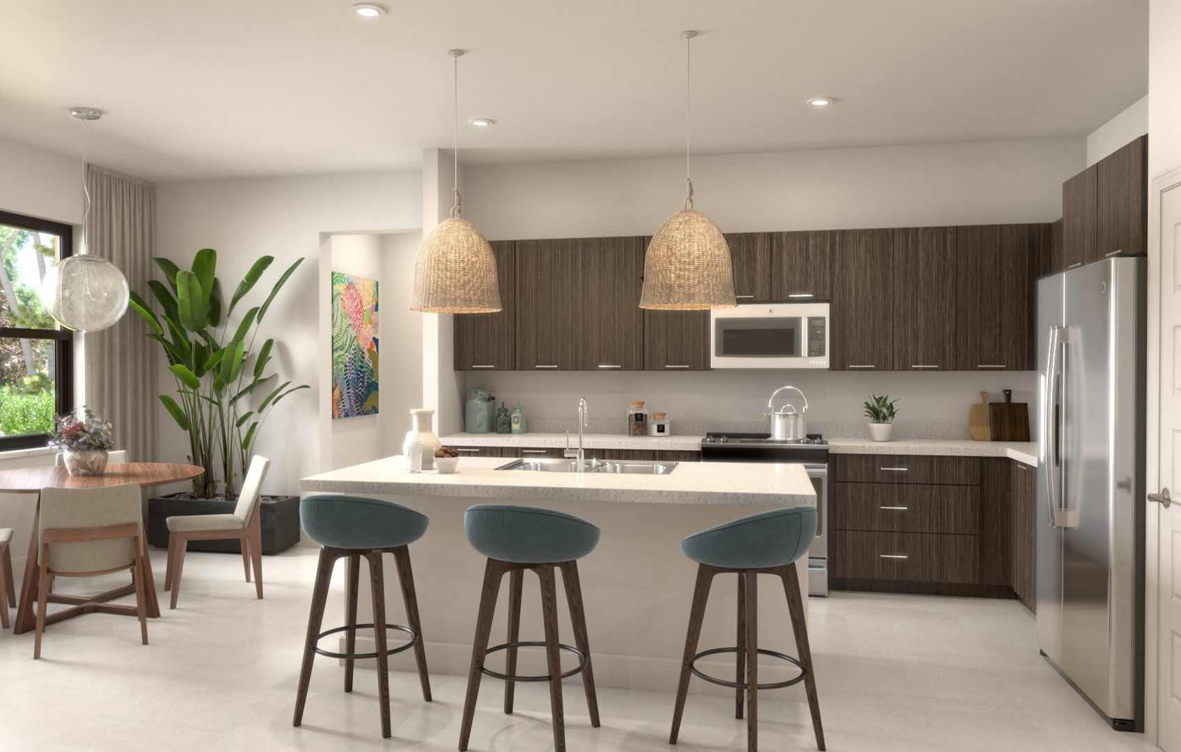 Kitchen featured in the Marquez By Lennar in Broward County-Ft. Lauderdale, FL