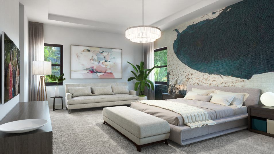 Living Area featured in the Magnolia By Lennar in Broward County-Ft. Lauderdale, FL