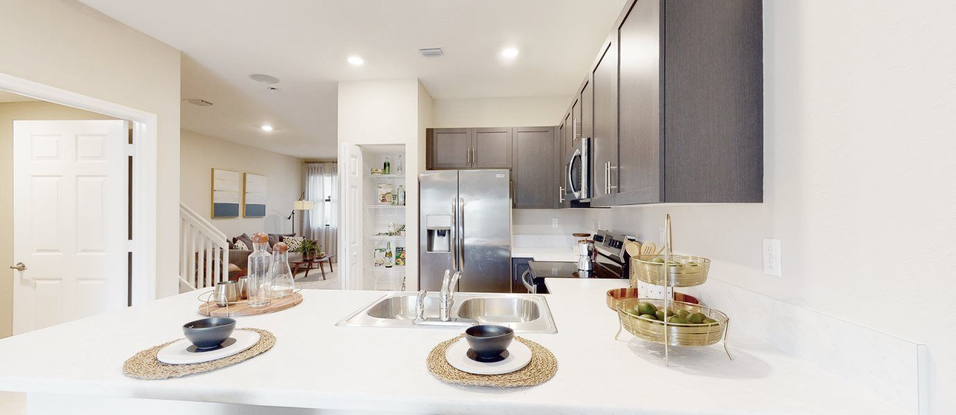 Kitchen featured in the Dijon By Lennar in Broward County-Ft. Lauderdale, FL